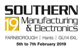 Southern Manufacturing - 5-7 February 2019- Stand No B310
