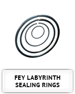 Fey Labyrinth Sealing Rings